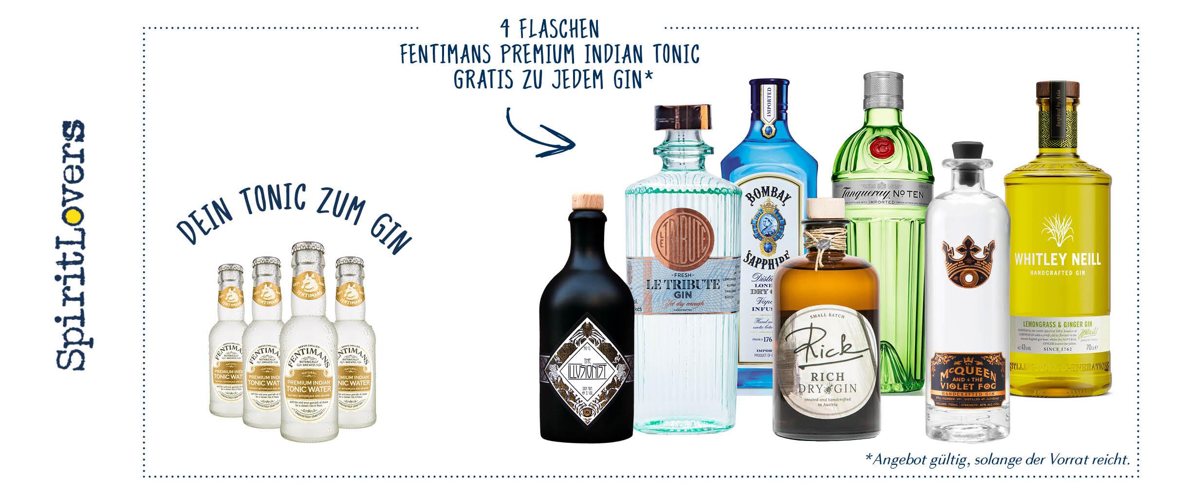 A7 - Fentimans Tonic gratis zu Gin